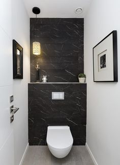 Washroom Design, Bathroom Design Luxury, Modern Bathroom Design, Small Toilet Room, Small Bathroom, Bathrooms, Wc Decoration, Luxury Toilet, Wc Design