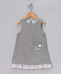Gray Alicia Dress for the little ladies this fall!  Check them out on Zulily!