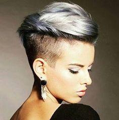 La moda en tu cabello: Cortes Pixie al estilo undercut - 2016