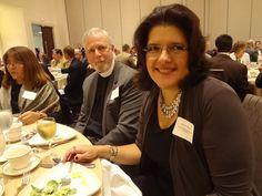 The WTA executive administrator, Deborah Ingravallo (right) on the meeting