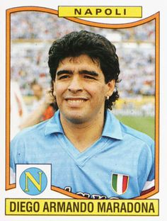 Diego Maradona during his time in Naples. Football Images, Football Pictures, Football Soccer, Good Soccer Players, Football Players, Lionel Messi, Naples, Diego Armando, Word Cup