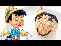 Pinocchio Marshmallow Crispy Treats | Dishes by Disney - YouTube