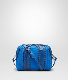 Signal Blue Intrecciato Nappa Ayers Messenger Bag - Women s Bottega Veneta®  Crossbody Bag - Shop at the Official Online Store 391b2550201a6