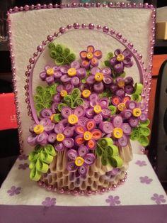Flowers basket.