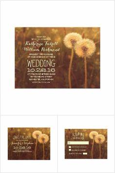 Dandelions Wedding Collection