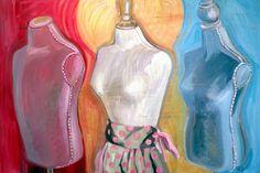 "Three Hopes, Oil on Panel, 36"" x 24"", ©2011 Jennie Traill Schaeffer."