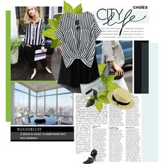 """Stripes forever!"" by minnie-me on Polyvore"