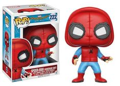 Spider-Man Homemade Suit Vinyl Figure - Funko Pop Official Spider-Man – One Geek  DETAILS & DIMENSIONS Product: Spider-Man Homemade Suit Figures Product Size: 10 cm Material: PVC Age: Over 6 years old Type: Collectible Vinyl Doll Theme: Movie & TV Manufacturer: Funko