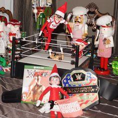 WWE Elf On The Shelf