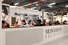 CLIENTE Pastificio Felicetti. Stand per il brand Monograno Felicetti ad Identità Golose 2013 #evento #stand #grafica #design #comunicazione