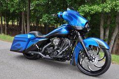 2010 CUSTOM STREET GLIDE | Gastonia Used Motorcycles for Sale | The Bike Exchange