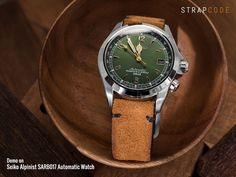 There are some festival look of Seiko Alpinist to wear this Thanksgiving party on strapcode.wordpress.com #MiLTAT #strapcode