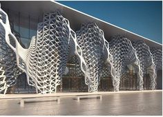 Featuring parametric and computational architecture and design Architecture Design, Parametric Architecture, Parametric Design, Organic Architecture, Facade Design, Futuristic Architecture, Beautiful Architecture, Contemporary Architecture, Landscape Architecture