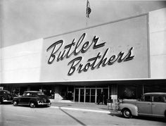 LAKEWOOD:  Butler Brothers was one of the original anchors of Lakewood Center when it opened in 1952.