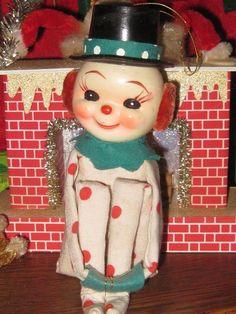 Vintage Christmas Snowman Knee Hugger ~
