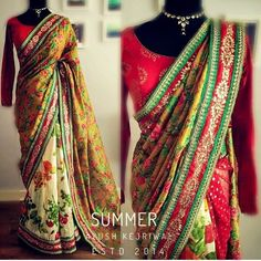 Say hello to 'SUMMER' She is colourful happy full of life and rather unique! For purchases email me at  designerayushkejriwal@hotmail.com or what's app me on 00447840384707  We ship WORLDWIDE. #sarees#saris#indianclothes#womenwear #anarkalis #lengha #ethnicwear #fashion #ayushkejriwal#Bollywood #vogue #indiandesigners #handmade #britishasianfashion #instalove #desibride #bollywoodfashion #aashniandco #perniaspopupshop #style #indianbeauty #classy #instafashion #lakmefashionweek…