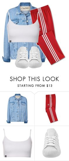 """""""Untitled #930"""" by antonela-475 ❤ liked on Polyvore featuring adidas"""