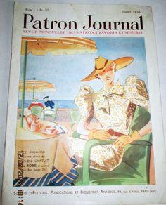 PATRON JOURNAL JUILLET 1936 ALBUM DES PATRONS FAVORIS ET MINERVE