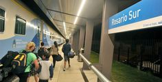 ferrocarriles del sud: Rosario: los nuevos horarios desalientan el uso de...