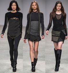 la modella mafia Isabel Marant Fall Winter 2013 runway 13