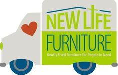 New Life Furniture Bank People In Need, New Life, Logo, News, Furniture, Logos, Home Furnishings, Arredamento, Environmental Print