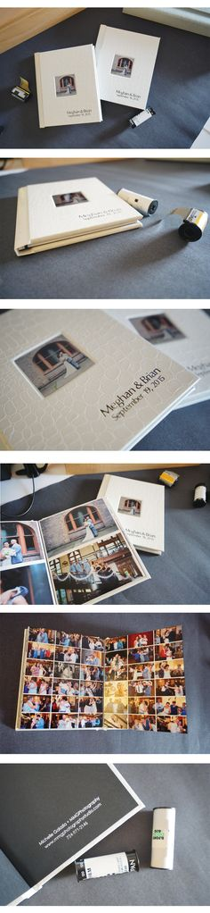 MMG Photography got twice as fabulous with these identical Hinged Bound Albums!