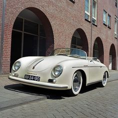 Porsche 356 Speedster by Ronald_H, via Flickr