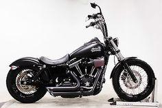 Harley-Davidson : Dyna 2013 Harley-Davidson Dyna Street Bob FXDB Custom Bobber / Chopper Motorcycle