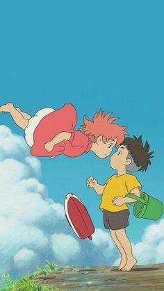 Studio ghibli,ponyo,hayao miyazaki Cosplay idea for child Art Studio Ghibli, Studio Ghibli Movies, Studio Ghibli Quotes, Studio Ghibli Poster, Personajes Studio Ghibli, Manga Anime, Anime Art, Ponyo Anime, Studio Ghibli Background