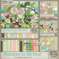 Summer In My Soul ~ Bundled Collection ~ by Jumpstart Designs