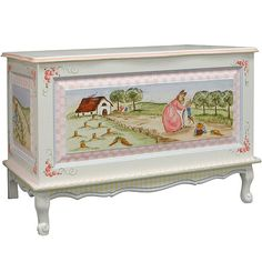 Enchanted Forest Toy Chest II from PoshTots