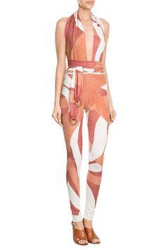 Printed Jumpsuit | Roberto Cavalli