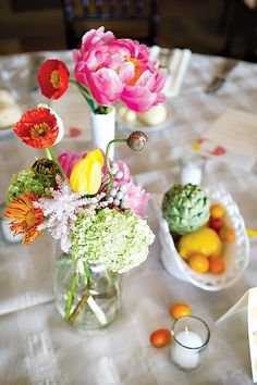Sweet & Colorful DIY Wedding {Budget Friendly} // Hostess with the Mostess®