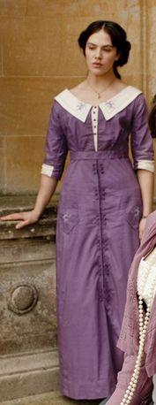 [1910] Robe mauve inspiration Sybil de Downton Abbey