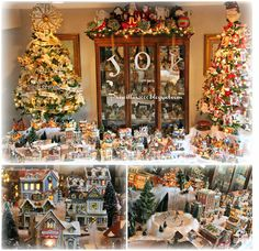 Priscillas: It's Finished !! The 2014 Christmas Village