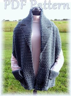 Crocheted Readers Wrap