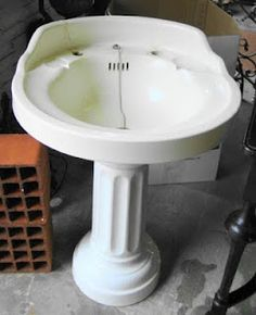 sale porcelain to everything know vintage home antique depot sink pedestal intended contemporary need for you about
