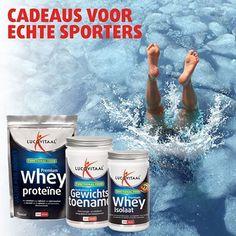 Whey proteïne voor beter herstel en opbouw van de spieren. Lucovitaal.