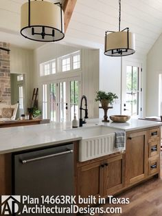 Are you looking for images for modern farmhouse? Browse around this website for amazing modern farmhouse ideas. This amazing modern farmhouse ideas appears to be absolutely brilliant. Modern Farmhouse Plans, Modern Farmhouse Kitchens, Home Kitchens, Farmhouse Decor, Small Kitchens, Dream Kitchens, Kitchen Modern, Remodeled Kitchens, Industrial Kitchens