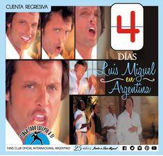 Luis Miguel -CUENTA REGRESIVA - Luis Miguel en Argentina- DEJAVUTOUR- 2015-  Tengo Todo Excepto a Ti, fans club oficial internacional Argentino-  Desde 1990 Junto a Luis Miguel Seguinos en todas nuestras redes sociales: FACEBOOK:  https://www.facebook.com/pages/Tengo-Todo-Excepto-A-Ti/595464773913653 TWITTER: @tengotodoclub - INSTAGRAM: @Tengotodocluboficial -