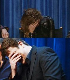 Nathan Fillion and Stana Katic's in-sync reaction to a Martha-esque quip from Susan Sullivan Stana says she finds herself answering for him or finishing his sentences. Castle 2009, Castle Abc, Castle Series, Castle Tv Shows, Susan Sullivan, Richard Castle, Castle Beckett, Greys Anatomy Cast, Nathan Fillion