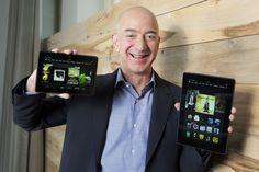 Inside Amazon's new Kindle Fire...