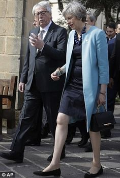 Theresa gives EU the jitters