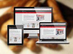 Desarrollo de sitio web empresarial en HTML5 y CSS3. Adaptado a dispositivos móviles (celulares y tablets).