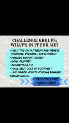 My next Challenge group starts Preseason starts August 31 st and September…
