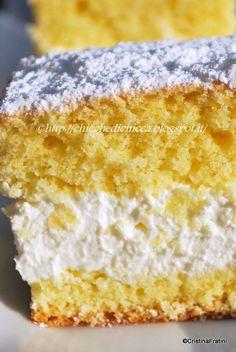 The goodies gem: Cake Kinder Italian Desserts, Mini Desserts, Delicious Desserts, Torte Cake, Cake & Co, Sweet Recipes, Cake Recipes, Dessert Recipes, Hungarian Cake