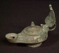 oil lamps | Ancient Roman Oil Lamps - Bronze and Pottery Lamps and Fillers ...