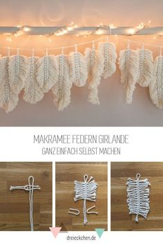 macrame plant hanger+macrame+macrame wall hanging+macrame patterns+macrame projects+macrame diy+macrame knots+macrame plant hanger diy+TWOME I Macrame & Natural Dyer Maker & Educator+MangoAndMore macrame studio Macrame Projects, Craft Projects, Home Crafts, Diy And Crafts, Recycled Crafts, Feather Garland, Diy Garland, Ideias Diy, Macrame Design