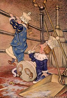 Milo Winter, Illustrator for Alice in Wonderland, 1916 Lewis Carroll.