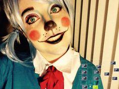 Toy Bonnie makeup